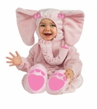 Ella Fun Pink Elephant Costume for Baby Girls  12-18 month