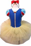 Snow White Costume Dress Tutu Pettidress Infant Toddler Girls