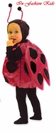 Ladybug Costume - Deluxe Costume SATIN PADDED WINGS!!
