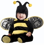 Baby Bumblebee Costume: Super Deluxe - Lil Stinger Infant Costume