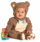 OATMEAL  Bear Costume  - with Rainbow Blanket