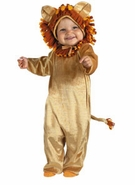 Infant Lion Costume - Cuddly Cub