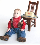 Infant Cowboy Costume - SOLD OUT