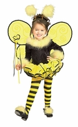 Toddler Bumblebee Costume - Bee Girl