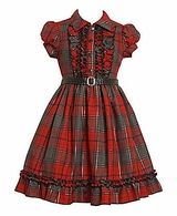 Girls 7-16 Dresses : Vintage Style Plaid Shirtwaist Dress SOLD OUT