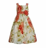 Toddler Easter Dress :  Floral Bubble Dress Bonnie Jean - sold out