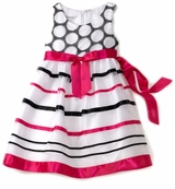 Bonnie Jean Organza Ribbon Baby Dress   SOLD OUT