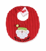 Baby's 1st Christmas : Mud Pie My First Christmas Bib  SALE!