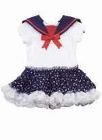 Rare Editions Nautical Tutu Pageant Dress