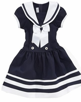Girls Sailor Dress - sold out