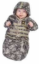 Baby Army Costume - Newborn Bunting Costume  SOLD OUT