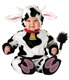 Baby Cow Costume - Mini Moo - ALMOST GONE - out of stock