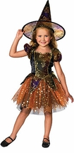 Girls Witch Costume - Elegant Witch MED 8-10 LAST ONE