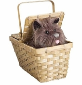 Dorothy's Basket with Toto Dog - Deluxe