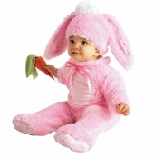 Baby Girls Bunny Rabbit Costume - Pink