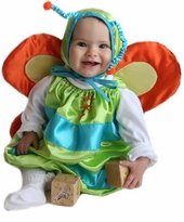 Infant Butterfly Costume - Bright Butterfly Costume