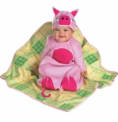 Pig in a Blanket Bunting Costume