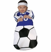 Baby Soccer Costume - Infant Bunting