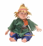 Infant Scarecrow and Hat Costume