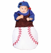 Bunting Costumes for Baby - Baseball Player Costume