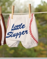 Mud Pie- Little Slugger Diaper Cover