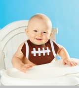 Mud Pie - Football BiB - Out Of Stock