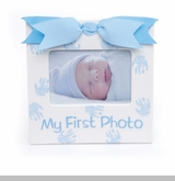 Mud Pie- Baby Boy My 1st Photo Ceramic Frame