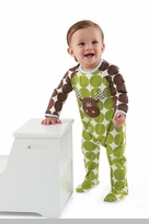 Green Dot Baby Boy's Sleeper: Mud Pie Boy's Moose One Piece