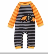 Orange Infant Boy's One Piece: Mud Pie Baby's Boy's Halloween Sleepers - OUT OF STOCK
