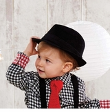 Black Boys Top Hat: Mud Pie Corduroy Fedora Hat