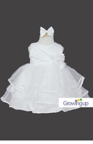 White Christening Baby Dress