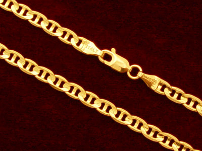 Gold Gucci Link Chain 14k Gold Gucci Link Chain