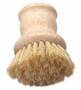 DISHPAN BRUSH NATURAL BRISTLES