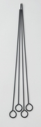 "SKEWERS NONSTICK 15"" SET/4"