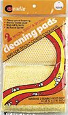 Cadie Cleaning Pads Nylon, Terry & Sponge (2pk)