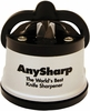 AnySharp™ Knife Sharpener - Silver