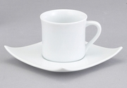 CUP/SAUCER SQUARE 7""