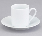 CUP & SAUCER DEMI (SET OF 4)