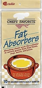 FAT ABSORBERS (10 SHEETS)