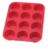 12 CUP  MUFFIN PAN SILICONE