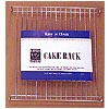 "Rectangular Cake Rack 11 1/8"" x 9"""