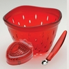 STRAWBERRY COLANDER 3 PC SET