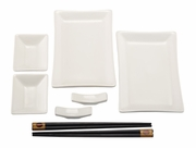 Helen's Asian Kitchen® Ceramic Sushi For 2 (8pc set)