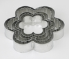 CRINKLE FLOWER COOKIE CUTTER