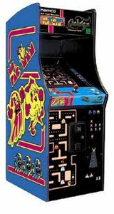 Ms. Pac-Man Galaga Arcade 25th Anniversary Home Edition