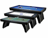 Fat Cat 7' Phoenix 3-in-1 Multi GameTable