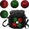 Full Size Bocce Set with Easy Carry
