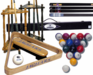 Billiard Accessories, Pool Cues,  Pool Sticks, Cue Racks, Pool Table Supplies