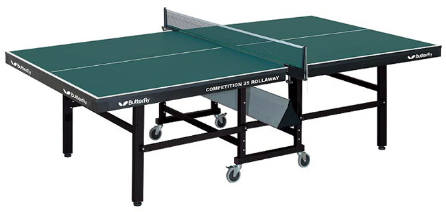 Butterfly Competition 25 Rollaway Table Tennis Table