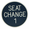 1st Seat Change Button